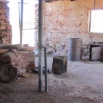 Blacksmith building at the telegraph station