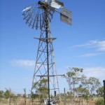 A broken windmill
