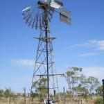 A broken windmill
