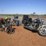 Two very different ways of travelling around Australia