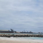 Port in Geraldton