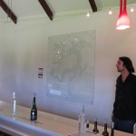 Tasting presentation at Xanadu Winery