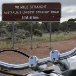 Australia's longest bit of straight road