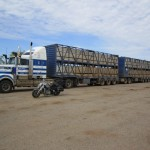 A road train dwarfes thes Road Star