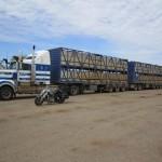 A road train dwarfes thes Road Star