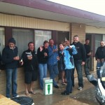 Car park party in Port Augusta