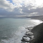 Looking back to Apollo Bay