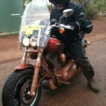 Big Joe and his dirty Harley