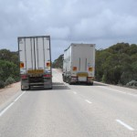 """Small"" road trains down south"